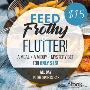 Feed, Frothy and Flutter