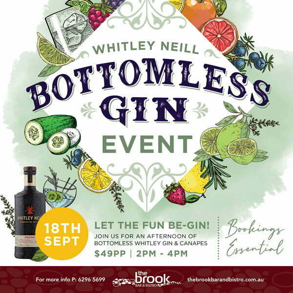 Bottomless Gin at The Brook
